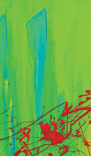 artisitc green paint background