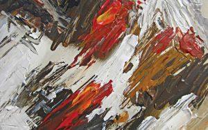 artistic dark paint background